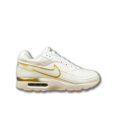 Nike Air Max Weiß Gold