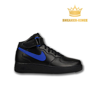 Nike Air Force 1 Mid 07 Schwarz/Blau