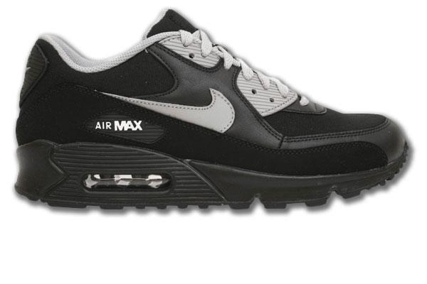 Air Max 90 Schwarz Grau