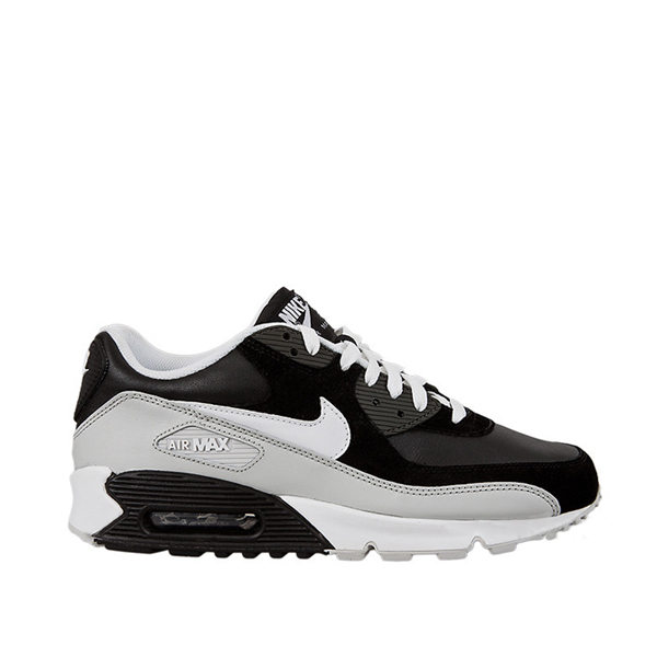 nike air max 90 schwarz grau weiss glattleder nubukleder neu gr 42 47 5 ebay. Black Bedroom Furniture Sets. Home Design Ideas