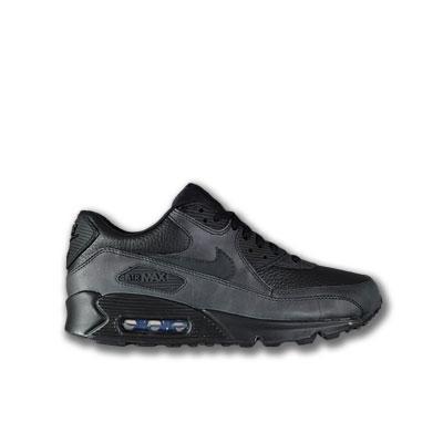 Nike Air Max 90 Schwarz Leder