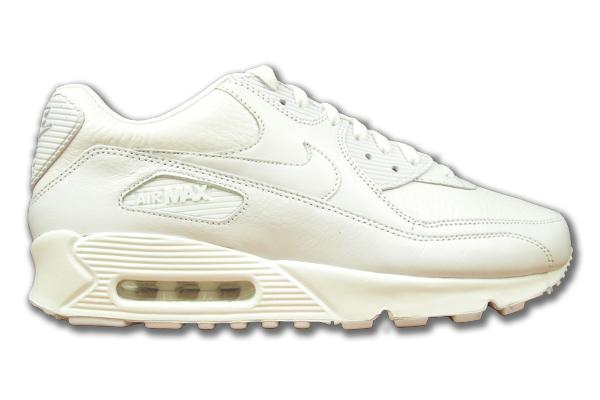 Nike Air Max 90 Weiß Leder