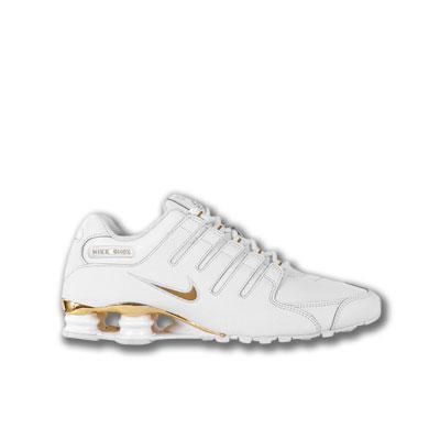 Nike Shox Damen Gold