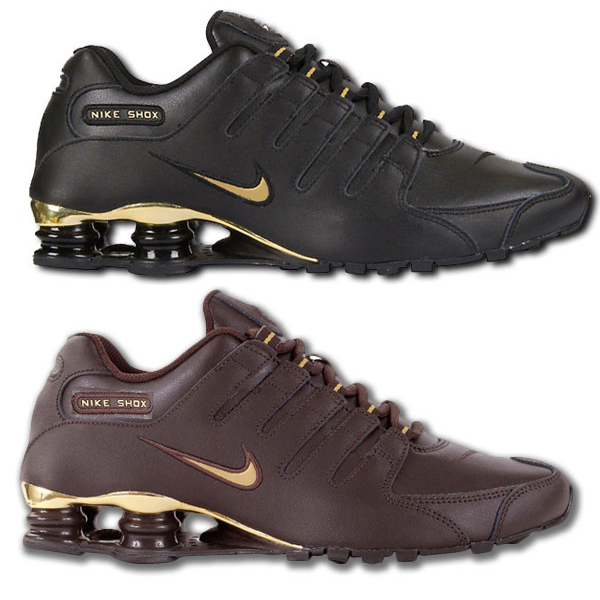 Nike Shox Herren Gold