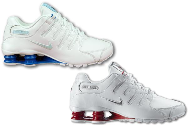 Wmns Nike Shox NZ EU 2 Farben und alle Größen wählbar Leder Weiss ...