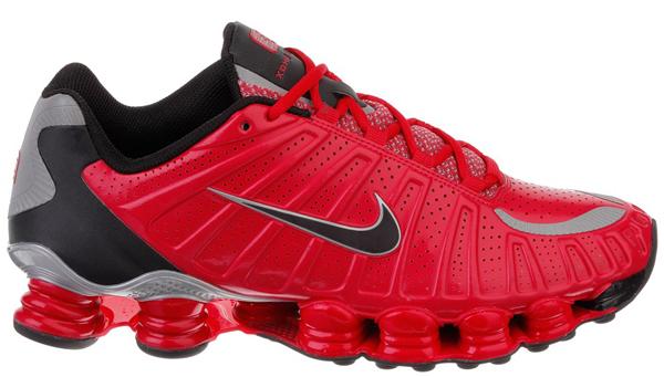 Nike Shox Schwarz Rot