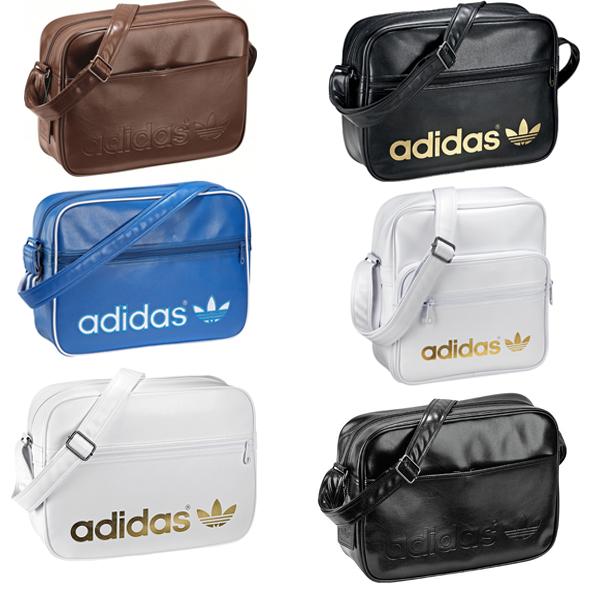 adidas ac airline bag new colours selectable messenger shoulder bag originals ebay. Black Bedroom Furniture Sets. Home Design Ideas
