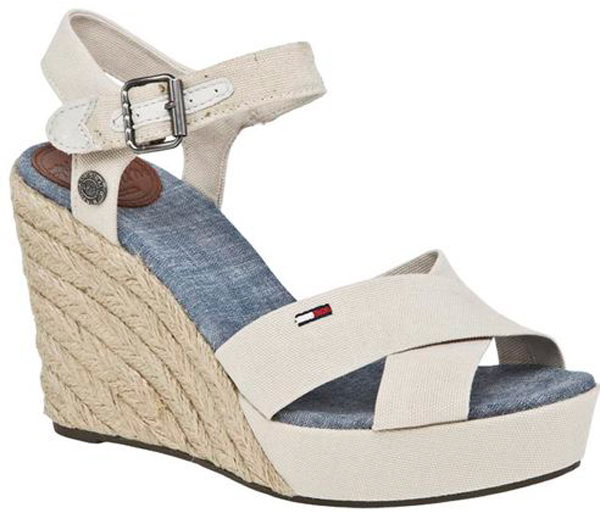 tommy hilfiger wedges lively 2 3a 4b emery 11 keilsandalette neu sandalen ebay. Black Bedroom Furniture Sets. Home Design Ideas