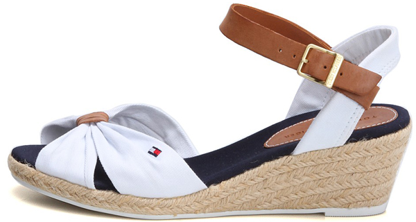 tommy hilfiger elsa keilsandalette espadrilles farben w hlbar wedges neu sandale. Black Bedroom Furniture Sets. Home Design Ideas