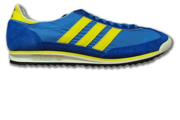 adidas gelb blau