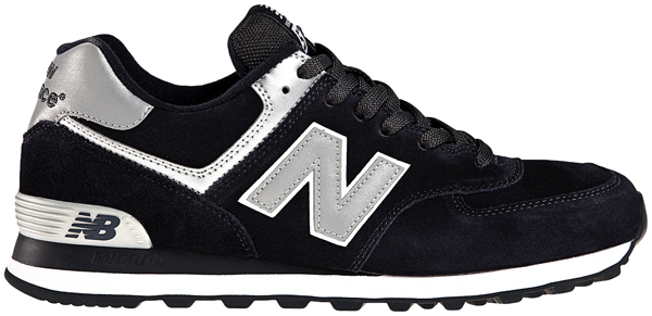 New Balance Ml574 Damen Schwarz