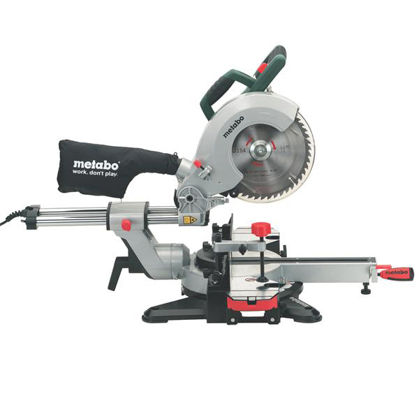 metabo chop saw miter saw kgs 216 m with sliding newest model kgs216m ebay. Black Bedroom Furniture Sets. Home Design Ideas