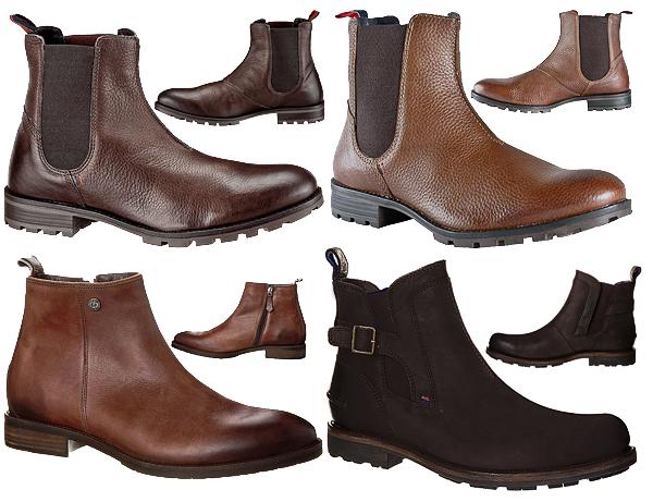 tommy hilfiger damian 2a carlos 8a clift 1 leder boots. Black Bedroom Furniture Sets. Home Design Ideas