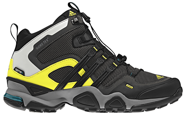 Zapato Botín Para Trekking Adidas Terrex Fast X Mid G Solo Negro ... 06e61ca62f752