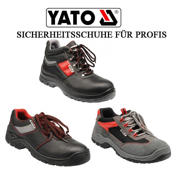 yato s3 sicherheitsschuhe kn chelschuhe arbeitsschutzschuhe 3 farben v gr en ebay. Black Bedroom Furniture Sets. Home Design Ideas