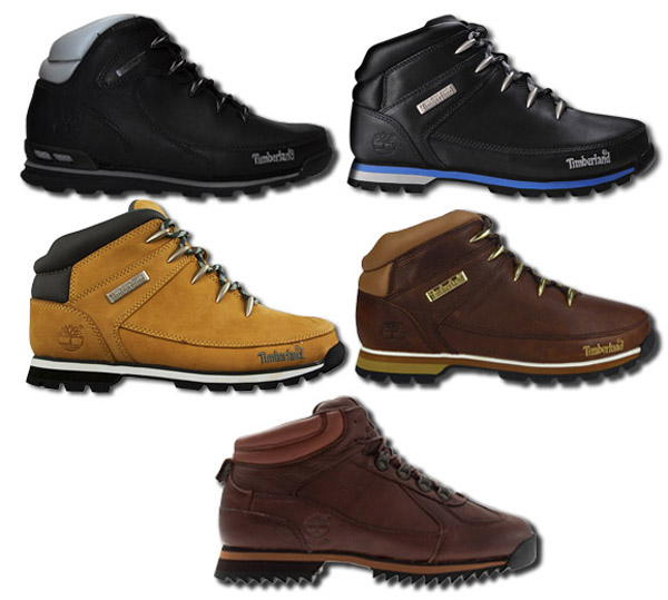 Timberland Euro Sprint Hiker Low Boots Splitrock Roll